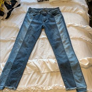Just Black two tone jeans